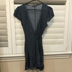 Brandy Melville Robbie Wrap Dress